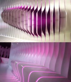 Amanda Levete of Future Systems does more interesting work for Corian. This has…