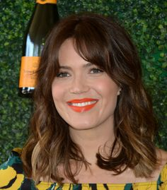 Mandy Moore at the 2016 Veuve Clicquot Polo Classic.