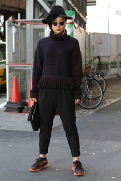 Street Style, Spring Summer 2016, Tokyo Fashion Week, Japan – 15 Oct 2015