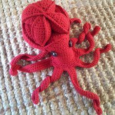 Olive the Octopus Amamani Puzzle | AllFreeCrochet.com
