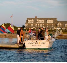 Staying at The Wauwinet, a Nantucket Island Resorts property, is akin to being marooned on a remote island with impeccable service. Nantucket Massachusetts, Nantucket Island, Beautiful Places In The World, Island Resort, Beach Town, Adventure Is Out There, Cape Cod, Travel Usa, Kitchens
