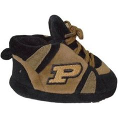 59b7ecc6 Comfy Feet NCAA Baby Slippers - Purdue Boilermakers - PUR03PR