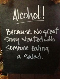 That's the motto! Come in for great drink specials during our happy hour Monday-Friday!