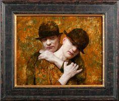 Kenne Paintings - 2013 - de Fratellies - 40 x 50 cm - acryl op paneel  By Kenne Gregoire