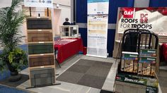 Left side view of Dependable Construction's 10'x20' booth out at the Dayton Convention Center. Check us, Dayton home and Garden show all weekend. #DCandR #DependabilityFirst