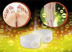 Healthy Magnetic Silicone Foot Massage Toe Ring for Slimming Loss Weight Set (White) by Foot Massage, Toe Rings, The Ordinary, Magnets, Weight Loss, Slim, Amazon Products, Healthy, Losing Weight