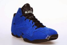 brand new 31e7f 20859 THE SNEAKER ADDICT  2014 Nike Lebron 11 XI EXT Blue Suede Sneaker (Detailed  New