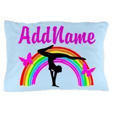GYMNAST SUPER STAR Pillow Case http://www.cafepress.com/sportsstar/10114301  #Gymnastics #Gymnast #IloveGymnastics #Gymnastgifts #WomensGymnastics #Personalizedgymnast #Gymnastinspiration