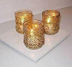 * Decoração e Invenção *: Potes de vidro...