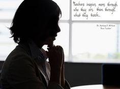Teachers inspire...