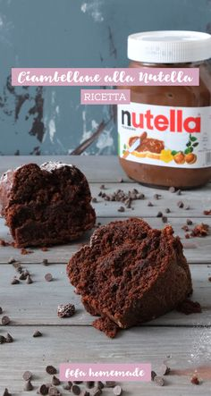 A very soft and with a secret ingredient inside: la Try the recipe, for one super tasty. Nutella Donuts, Nutella Biscuits, Delicious Desserts, Dessert Recipes, Yummy Food, Tasty, Nutella Recipes, Chocolate Recipes, Nutella Funny