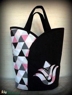 Tulipános táska-