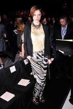 Lo más cool de la Semana de la Moda en Nueva York SS14: Coco Rocha en Carolina Herrera