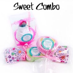 Are you ready to surprise that new mom with something super fun & unqiue?  Our Sweet Combo will do the trick and you'll save $$$ while baby gets #YummyBabyGifts! Comes with an Ice Cream, Lollipop, and a Bon Bon!! Almost good enough to eat!!!   ### yummybabygifts.com #givelaughlove #newborns #newmoms #babyshowergifts #fun #pregnant #babies