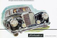 Mercedes Benz 300, Antique Cars, Vehicles, Poster, Vintage Cars, Car, Billboard, Vehicle, Tools