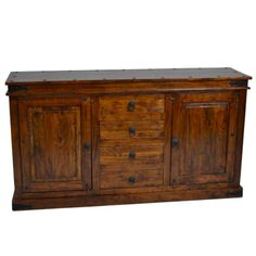 Classy Sideboard With 4 Drawers And 2 Doors