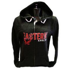 Men/'s Eastern Washington University Tailgate Hoodie Sweatshirt Apparel EWU