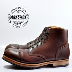 ::萬事威靴鞋專賣-美國製::訂製 :: MANSWAY BOOTS :: M6013