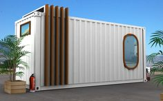 Container staff rooms