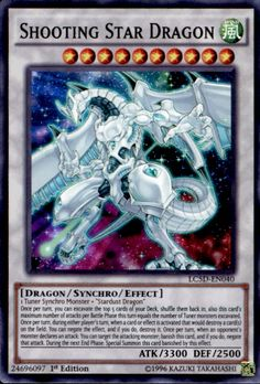 yugioh 5ds shooting star dragon card - Google Search