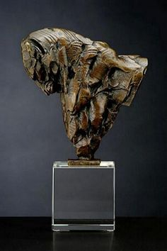 LEOPARD BUST VI MAQUETTE (S218) BY LEWIS, DYLAN