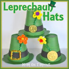 Leprechaun Hats {Craft} DIY