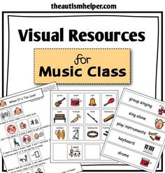 Students with special needs and autism can struggle during specials. Utilize the same supports that are successful in their classroom! This resource will help reduce problem behavior, improve communication, and increase appropriate skills in music class! by theautismhelper.com