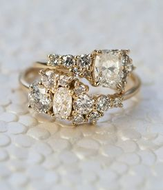 The Best Breathtaking Vintage Engagement Rings Collections (47)
