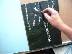 Acrylic Painting for Beginners, Easy First Painting