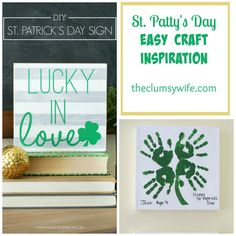 St. Patty's Day Easy Craft Inspiration