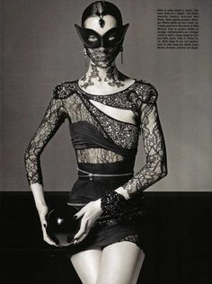 GOTH WITH A TWIST OF AVANT-GARDE, VOGUE ITALIA | VELVET MOON DIARIES