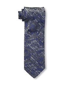 57% OFF Versace Men's Houndstooth Swirl Tie, Navy