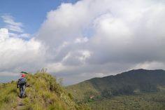 Sleeping Wild in a Volcano - Kenya, Mount Longonot, Africa
