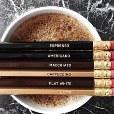 coffee, espresso, and latte image Coffee Type, I Love Coffee, Coffee Art, Coffee Break, My Coffee, Coffee Drinks, Espresso Coffee, Brown Coffee, Coffee Names