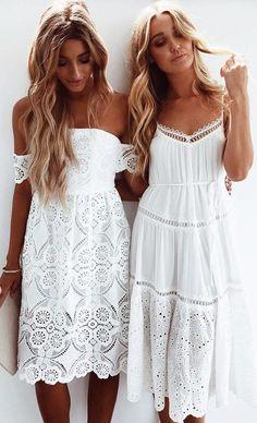5b02b621bd84 35 Best White boho dress images in 2019
