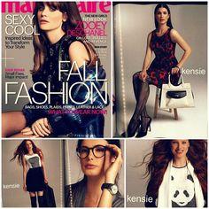 #Kensie as seen in Marie Claire, September 2013