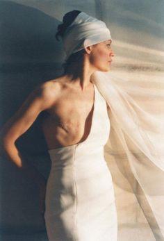 Matuschka: The Beauty of Damage  Artist's self portrait. She is a breast cancer survivor.