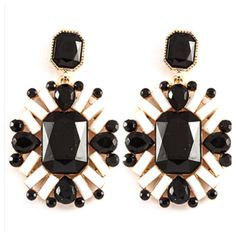 Oreo Drop Earrings #madewithstudio