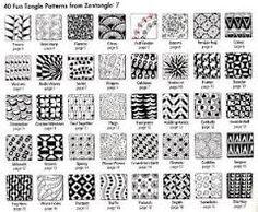 Image result for zendoodle patterns for beginners