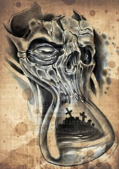 43 Best ideas for tattoo designs drawings sleeve pocket watches Evil Tattoos, Dope Tattoos, Head Tattoos, Skull Tattoos, Body Art Tattoos, Sleeve Tattoos, Tatoos, Clock Tattoo Design, Skull Tattoo Design