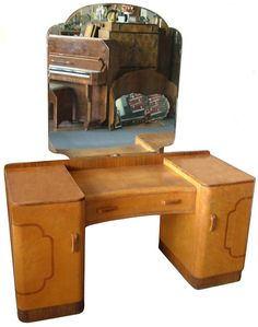Art Deco Mirrored Dressing Table | Art Deco Dressing Table