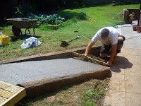 Building a wheelchair ramp.>>> See it. Believe it. Do it. Watch thousands of spinal cord injury videos at SPINALpedia.com