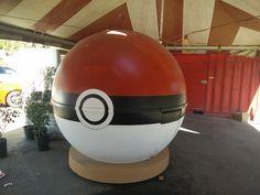 Giant Pokeball!