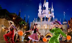 Little Trick-or-Treaters at Mickey's Not-So-Scary Halloween Party    I plan to take Scarlet one year!!! It would be so much fun! :D