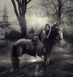 The Haunting by Phatpuppy Art, via 500px