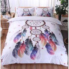 Dream Catcher Boho Bedding 3 Piece