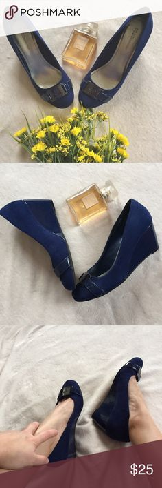 """BCBGeneration wedge pumps Great condition, only worn a couple of times. 2"""" heel BCBGeneration Shoes Wedges"""