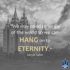 Elder Gary B. Sabin . April 2017 General Conference - I am putting this on one of my globes....just as a little reminder....