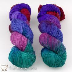 Bejewelled from Blue Moon Fiber Arts Socks that Rock Lightweight