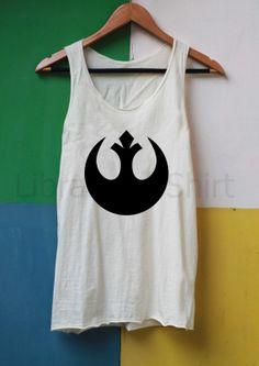 Rebel Alliance Shirts Star Wars Shirts Tank Top by LibraryOfShirt, $14.99